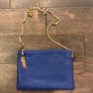 NWOT blue purse